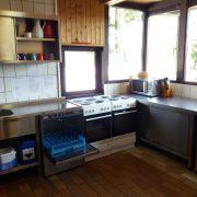 Ein Blick in die Küche des Landhauses
